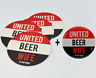 United, Beer, Wife, Beer Mat + Bottle Opener Set Great Gift from Manchester