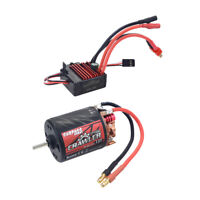 RC Turnigy Trackstar 540-13T Brushed Motor /& 60A ESC Combo for 1//10th Crawler