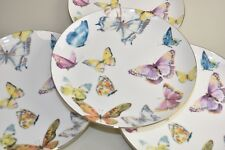 NEW Williams Sonoma Floral Meadow 4 PC Salad Plates Butterfly  20 available