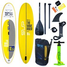 """Inflatable SUP 10'6"""" Stand UP Paddle Board iSUP by BLUEWAVE Kayak ultimate Pack"""