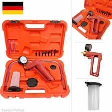 KFZ Vakuumpumpe Set Bremsenentlüfter Unterdruckpumpe Bremse Pumpe Druckprüfer##