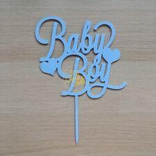 Baby Boy Nascita Bimbo It'a A Boy Cake Topper