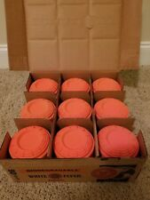 White Flyer Orange Biodegradable Skeets Clay Targets New in Box