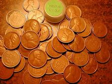 1937-S LINCOLN WHEAT CENT PENNY ROLL, HIGH GRADE!! VF-XF!!!!!