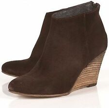 Topshop Zip High Heel (3-4.5 in.) Suede Boots for Women