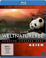 Das Weltnaturerbe - Schätze unserer Erde - Asien ( Reise / Tours DOKU BLU-RAY )