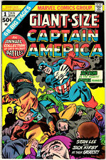 GIANT SIZE CAPTAIN AMERICA #1 - JANUARY 1975 - BRONZE AGE MARVEL CLASSIC