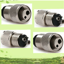 2 Dental Handpiece piezas mano Adapter connector 2 Hole to 4 Hole for NSK KAVO