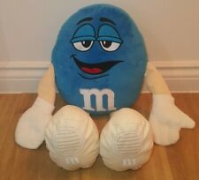 M&M Blue Plush Soft Toy M&M World Sweets Candy Chocolate