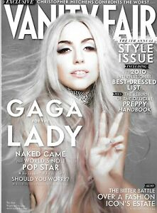 Vanity Fair Magazine Lady Gaga Style Issue International Best Dressed List 2010