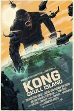 MONDO PRINT Kong Skull Island by  Francesco Francavilla SOLD OUT