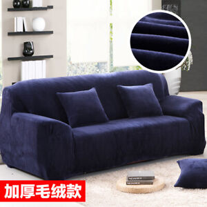 1 2 3 4 Seater Stretch Sofa Covers Slipcover Couch Cover Protector Elastic Tight