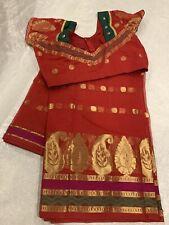 Beautiful latest Kota Cotton Saree With Designer Stitched Blouse Size 36/38