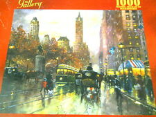 New Robert Lebron Central Park South Jigsaw Puzzle 1000 Pcs Streetcars Carriages