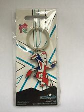 London Paralympics 2012 Mandeville Metal Union Jack Key Ring