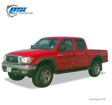 Black Textured Extension Fender Flares 1995-2004 Toyota Tacoma Full Set