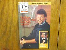 April-1990 Philadelphia Inquirer TV Week Mag(PAUL  REISER/MY TWO DADS/EMMA SAMMS