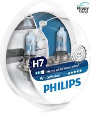 Philips White Vision Effet Xenon Ampoules de Phare Avant +60% Lumière H7 set 2
