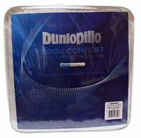 NEW Dunlopillo Double Bed Coolmax Comfort Fitted Mattress Protector137cm x188cm