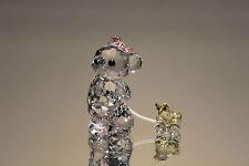 Swarovski Crystal It's a Girl Kris Bear Figurine 949710 New in Box 9400 Nr 207