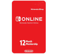 Nintendo Switch Online 12-Month Individual Membership