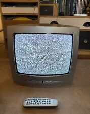 """Philips 14PT1686/05S Silver 14"""" Screen retro gaming TV CRT Television"""
