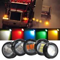 4X 12V truck marker light Round Led Bullet Button Rear Marker Light Lamps
