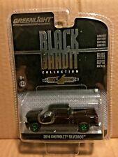 GREENLIGHT GREEN MACHINE BLACK BANDIT 2016 CHEVROLET SILVERADO