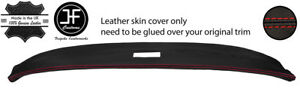 RED STITCH TOP DASHBOARD REAL LEATHER COVER FITS TRIUMPH SPITFIRE MK3 67-70