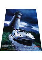2001 Toyota Celica -  Vintage Advertisement Car Print Ad J424