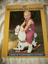 347 Woodworking Patterns Pattern Book by Fc&A Softcover
