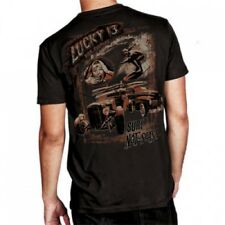 Lucky 13 Surf Jalopy Men's T Shirt M L XL 2XL New Hot Rod Rockabilly