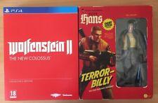 Wolfenstein 2 1/6 Scale Collectors Edition Terror Billy Action Hans Figure