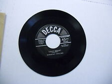 Dorothy Collins Small World/Silly Heart 45 RPM Decca Records