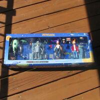 Futurama Collect-O-Pak Moore Collectible 4 pack Bender Leela Fry Planet Express