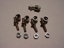 4 LIONEL T-159 BINDING POST AND 4 T-160 BINDING POST NUTS FOR ZW,KW,RW,SW,TW,Z,V