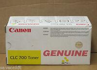 New Genuine Canon CLC-700 Copier Toner Cartridge Yellow CANCLC700Y 900 Series