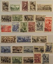Russia Unión Soviética 1933 424-461 acc. michel full year set with types used CTO MH