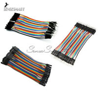 Multi Dupont Male to Female Breadboard Jumper Wire Raspberry Pi Arduino 10CM