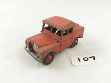 VINTAGE DINKY # 255 MERSEY TUNNEL POLICE LAND ROVER SERIES 1 DIECAST 1955