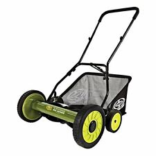 New Sun Joe Mj501M Mow Joe 18 Inch Manual Reel Mower with Catcher Free Shipping