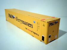 """WSI MODELS, 45FT CONTAINER """"P&O FERRYMASTERS"""",1:50"""