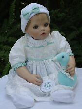 """Chipie Baby"" 22 inch Vinyl/Cloth Hildegard Gunzel Doll for Waltershausen-NIB!"