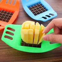 Fry Potato Chip Cut Cutter Vegetable Fruit Slicer Chopper Chipper Kitchen Tool
