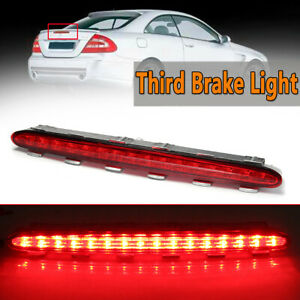 For Mercedes Benz CLK W209 02-09 Third 3RD Red LED Light Stop Brake Tail Lamp