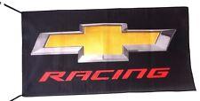 CHEVROLET RACING FLAG BANNER  5 X 3 FT 150 X 90 CM