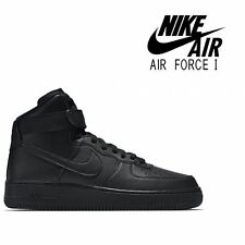 Nike Air Force 1 High'07 tutto nero 315121 032-misure UK 16