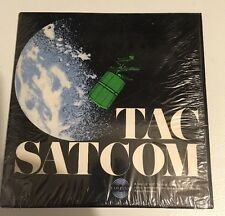 Rare Vintage Tac Satcom By Collins Radio 33 1/3 RPM Record.
