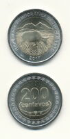 Osttimor / Timor Leste - 200 Centavos 2017 UNC Bimetall