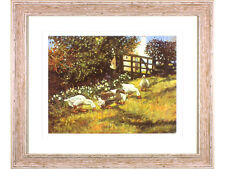 Wendy Stevenson - 'Geese' - Limited Edition Signed Print. Farmyard / Birds